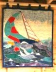 sailing wall hanging