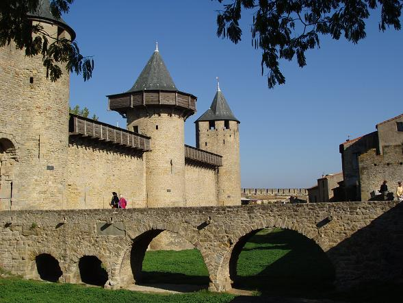 The bridge at Carcassonne 2005