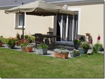 pot garden 2 at le Clos des Champs 2.8.13