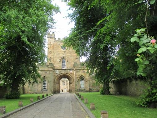 Entrance at Durham