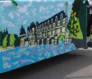 carneval 2014 back of 1st float, Chenonceau