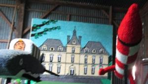 carneval 2014 Tintin chateau