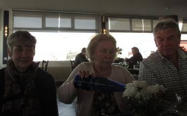 Judi, Maria and Rod, 28.11.14