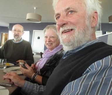 Sylvia, Richard and Jock 28.11.14