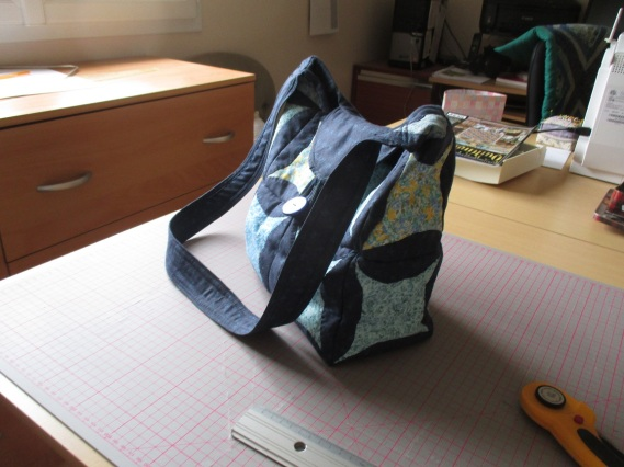 Japanese folded bag finished  2
