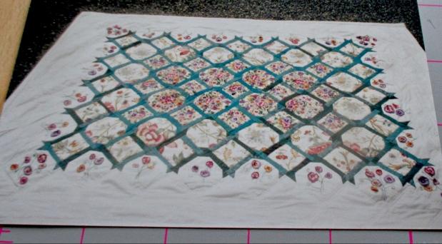 pansy trellis quilt