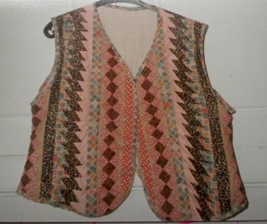 Seminole waistcoat